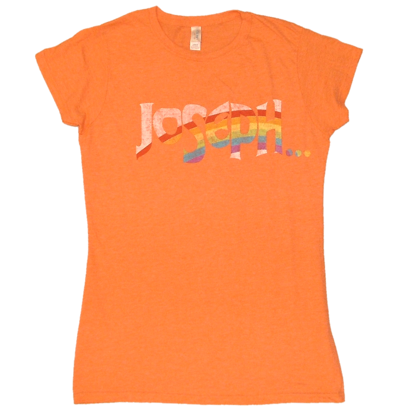 Joseph Ladies Heather Orange Tee