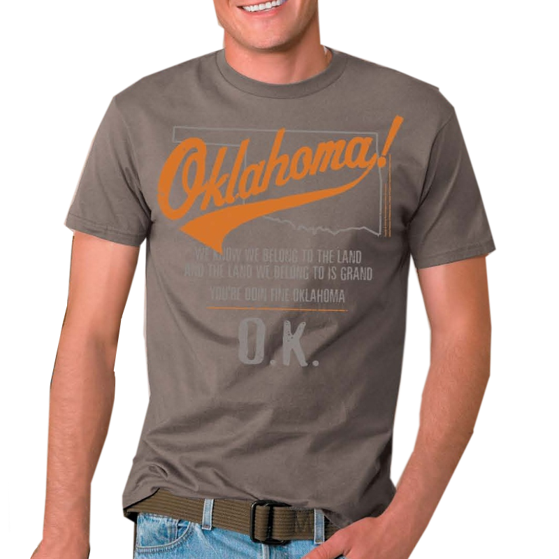 Oklahoma Unisex Savana Brown Tee