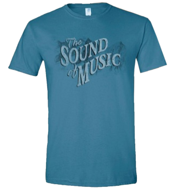 Sound of Music Indigo Blue Tee-Adult and Youth Sizes Available