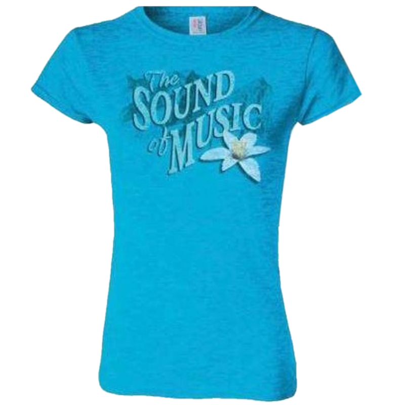 Sound of Music Ladies Sapphire Tee